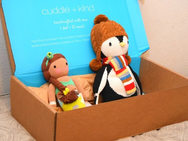 packaging for cuddle and kind dolls