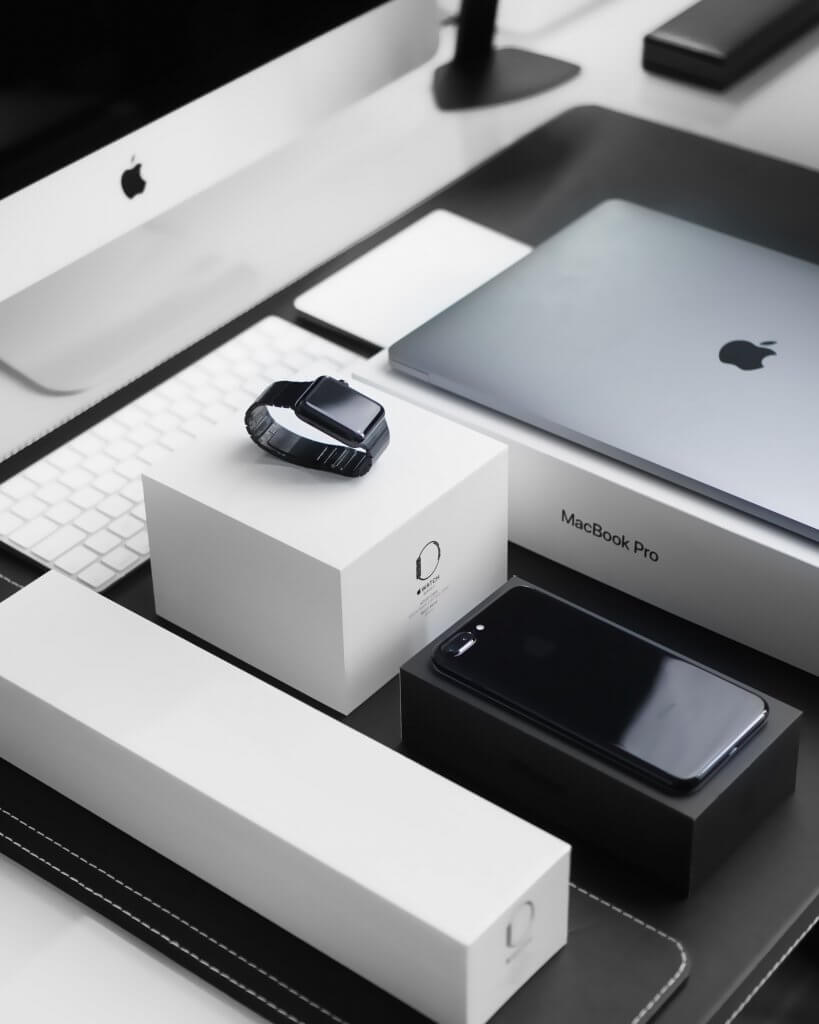 how apple products are packed
