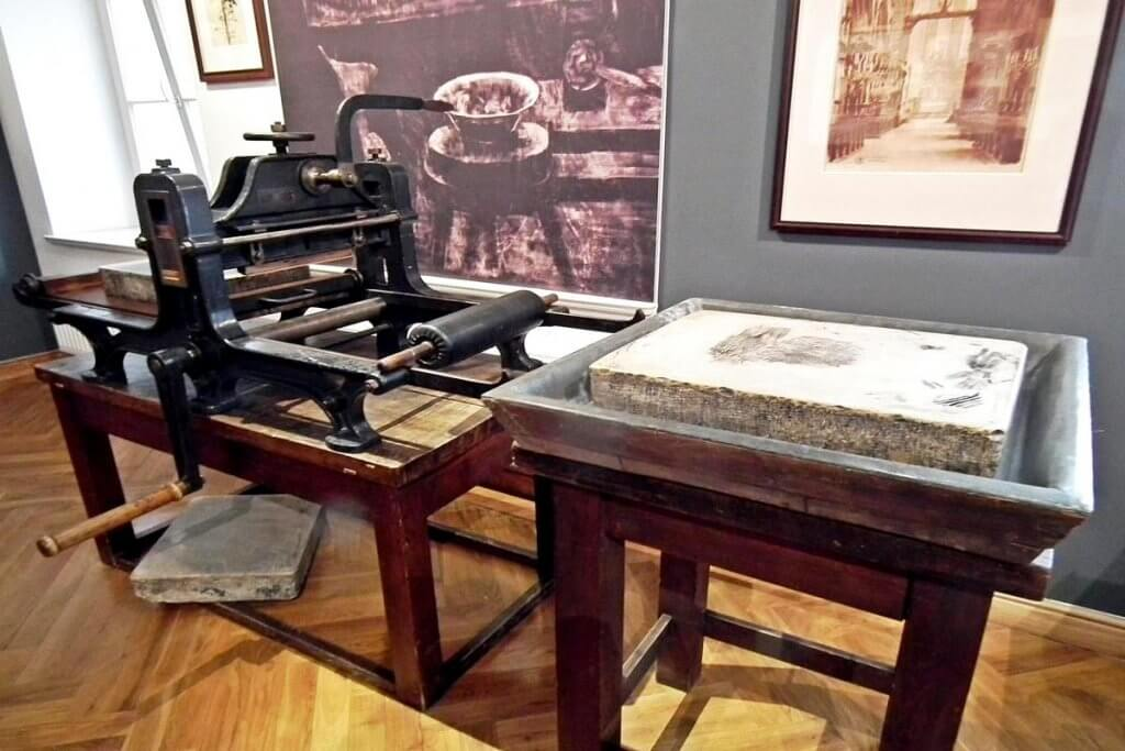 prasa litograficzna offset