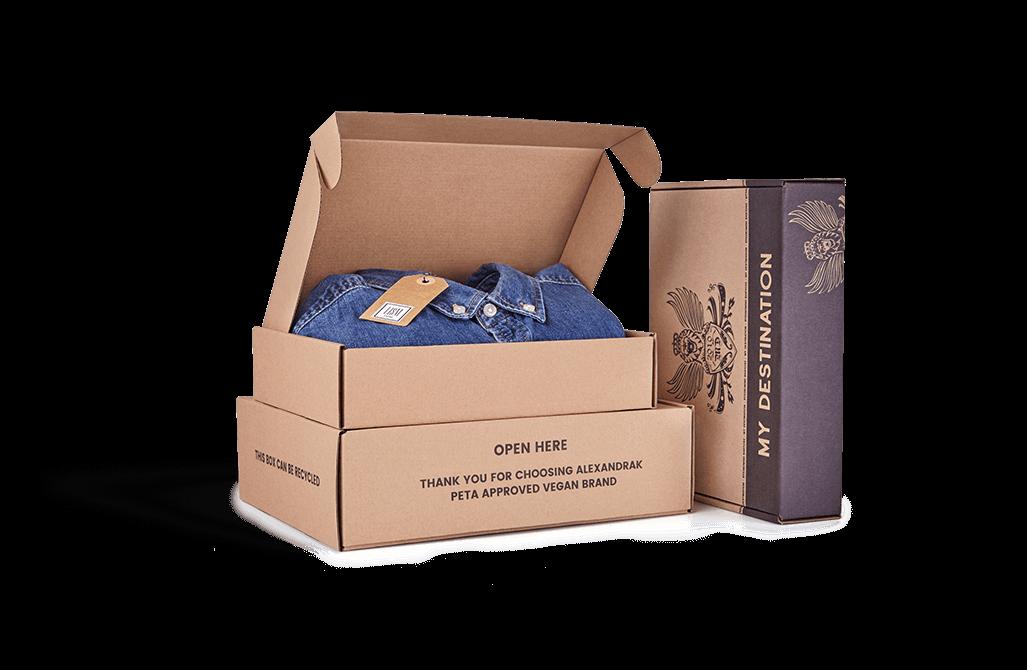 box custom mailer