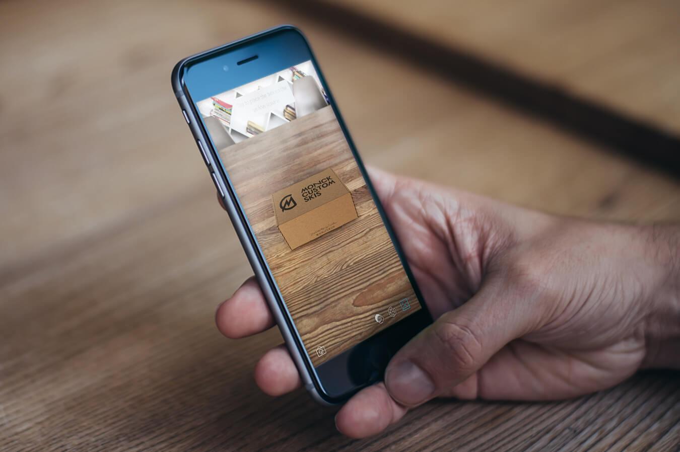 AR box app