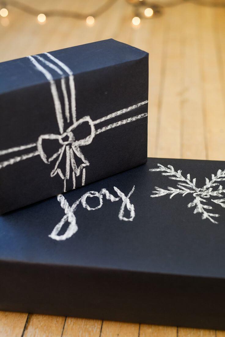 Chalkboard Paper Box