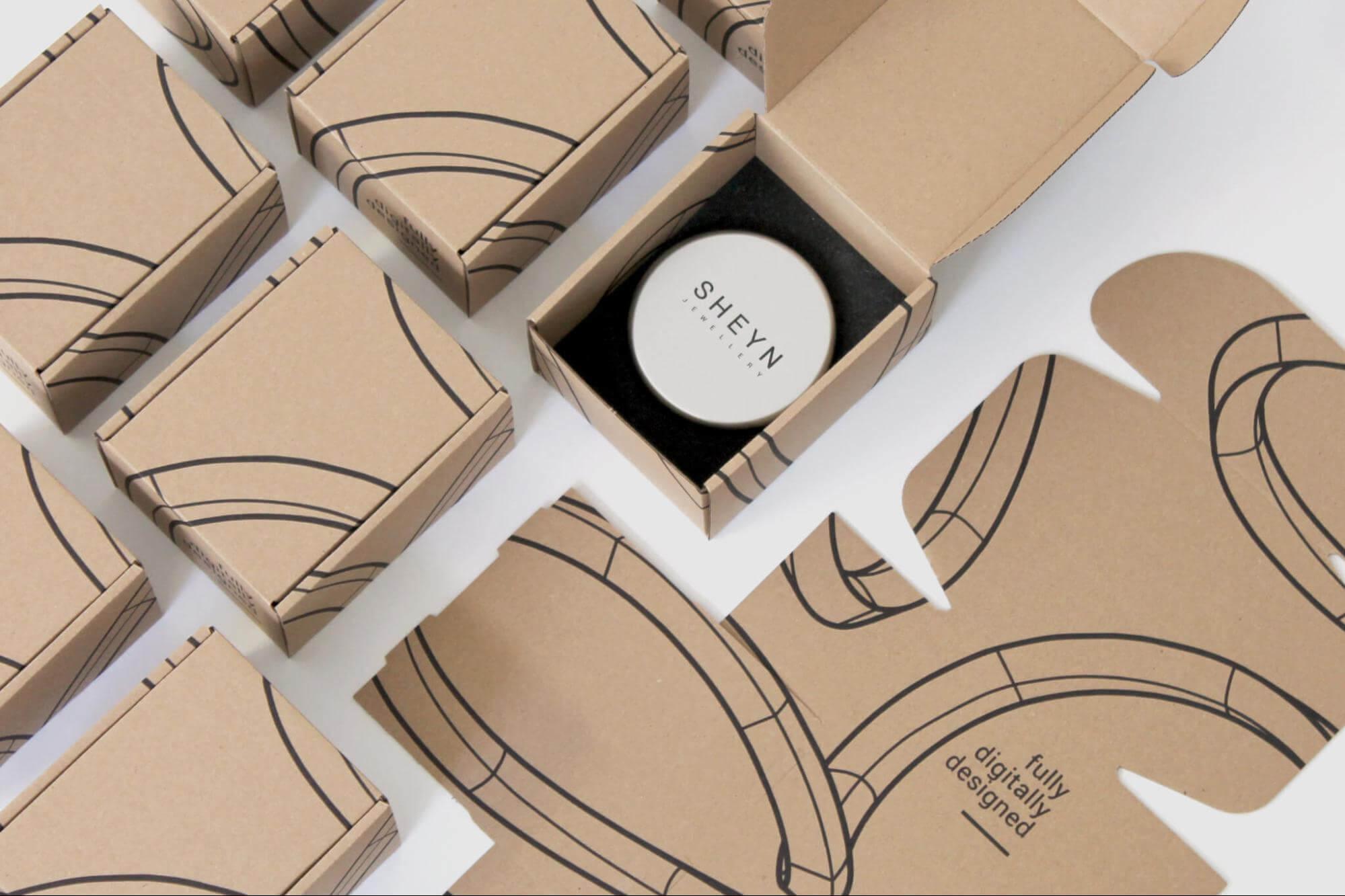 Nachhaltige Faltschachtel als Produktverpackung