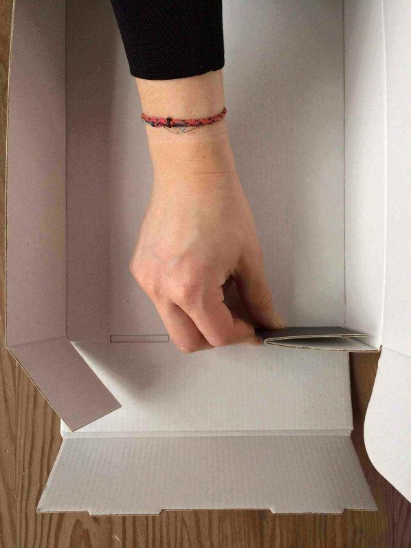 folding mailer box f44