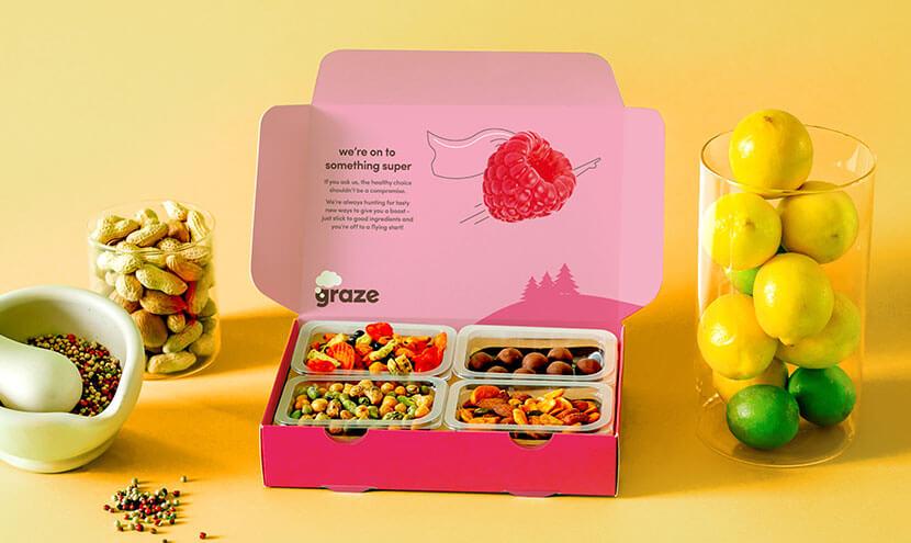 example of graze subscription box