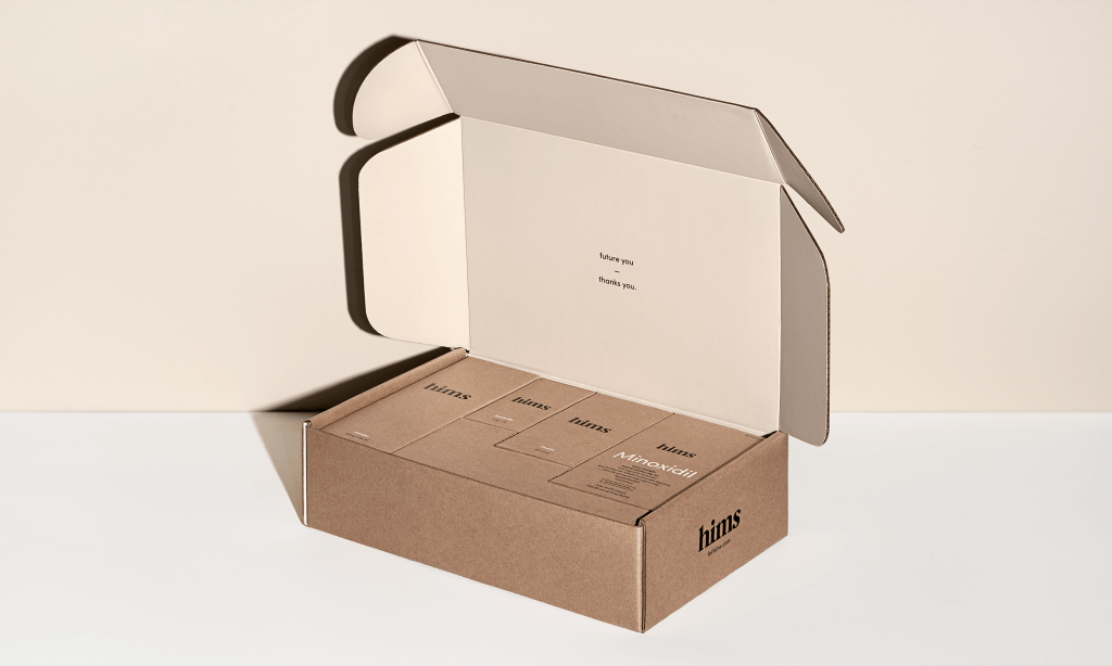 hims packaging design