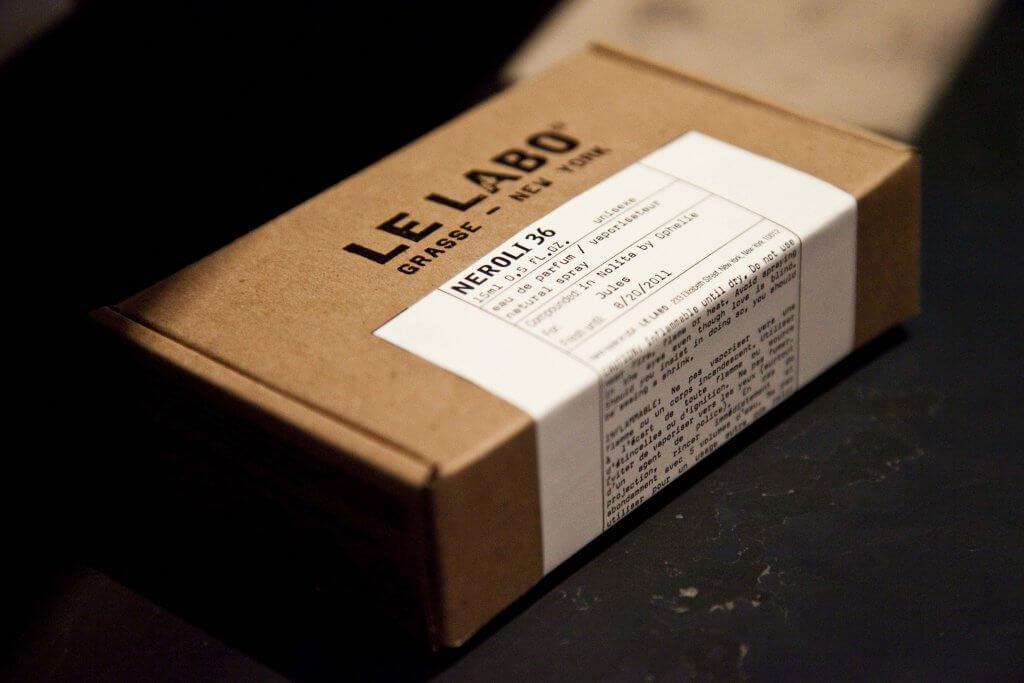 le labo packaging design
