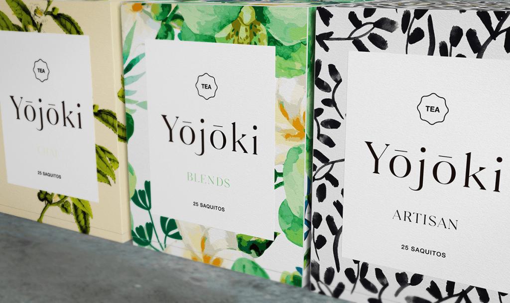 yojoki tea packaging design