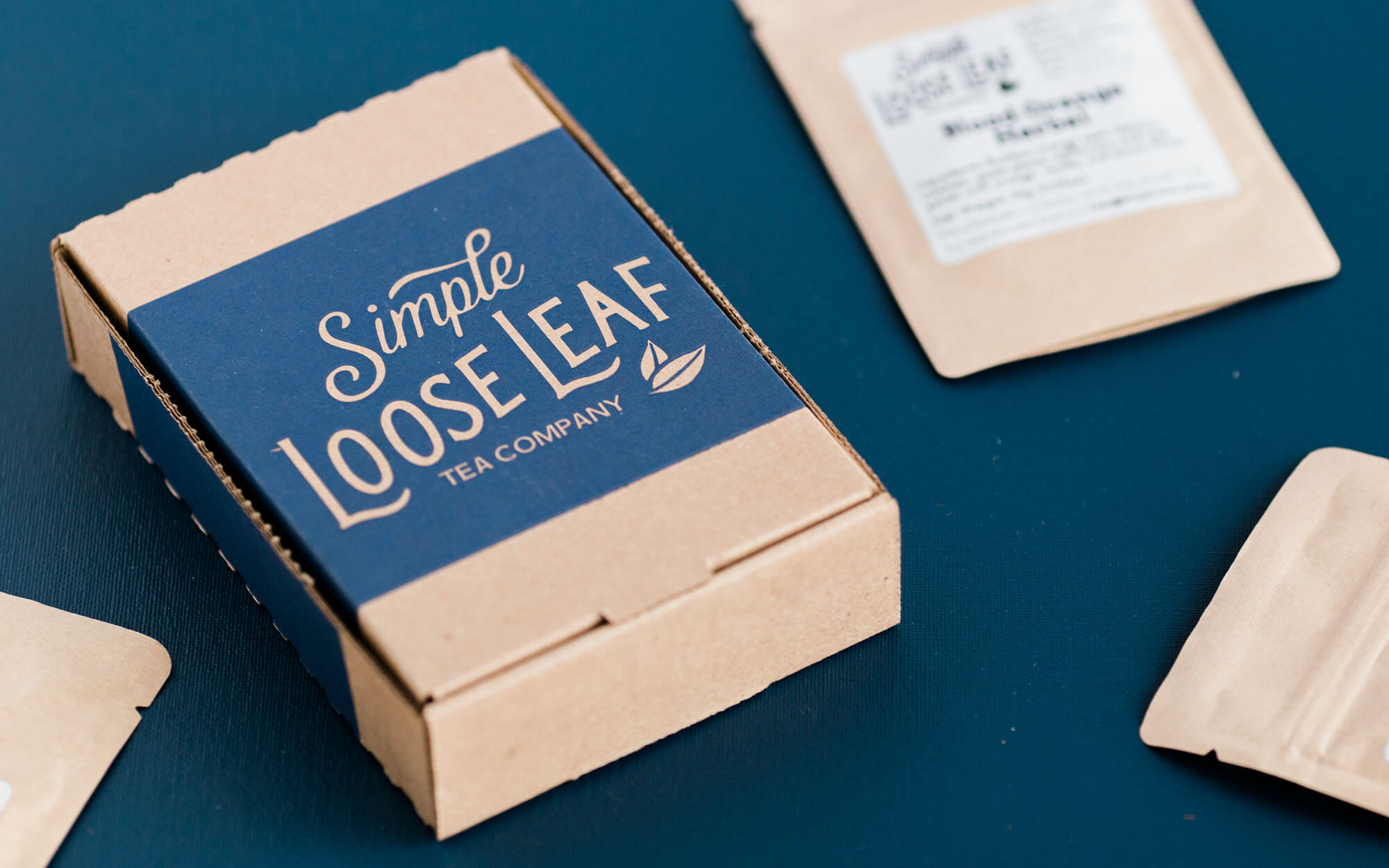 simple loose leaf company packhelp post cardboard box