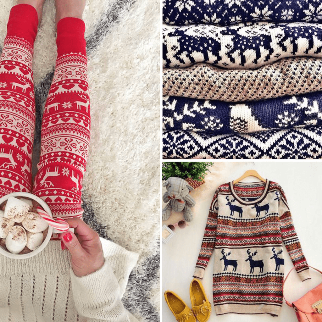 Scandinavian sweter pattern
