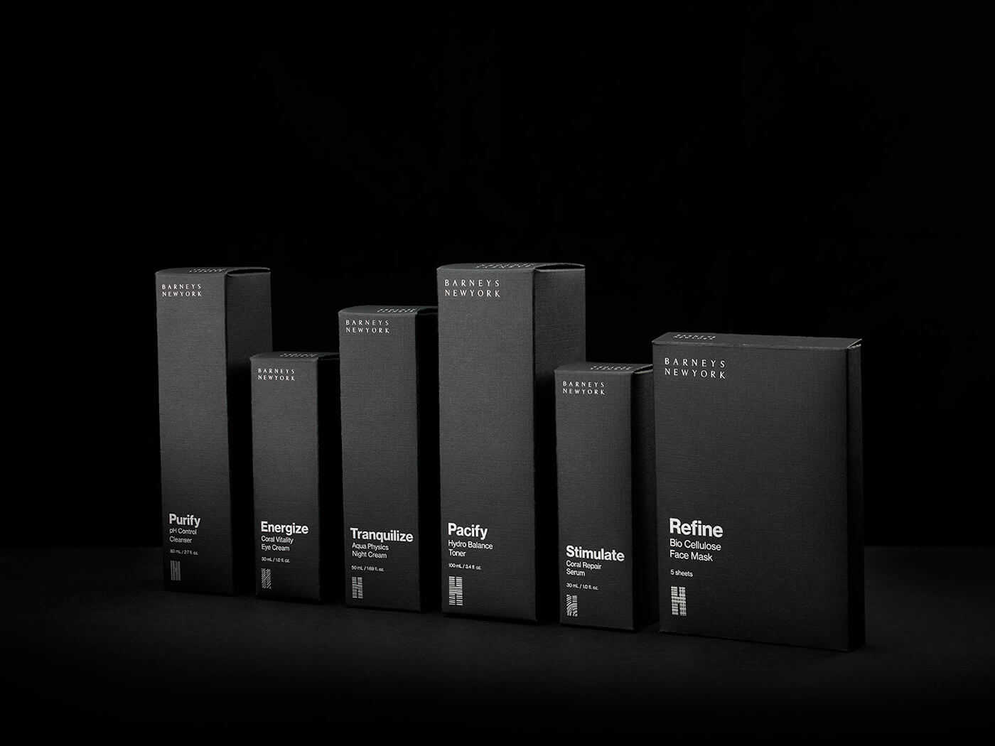 dark designs packaging