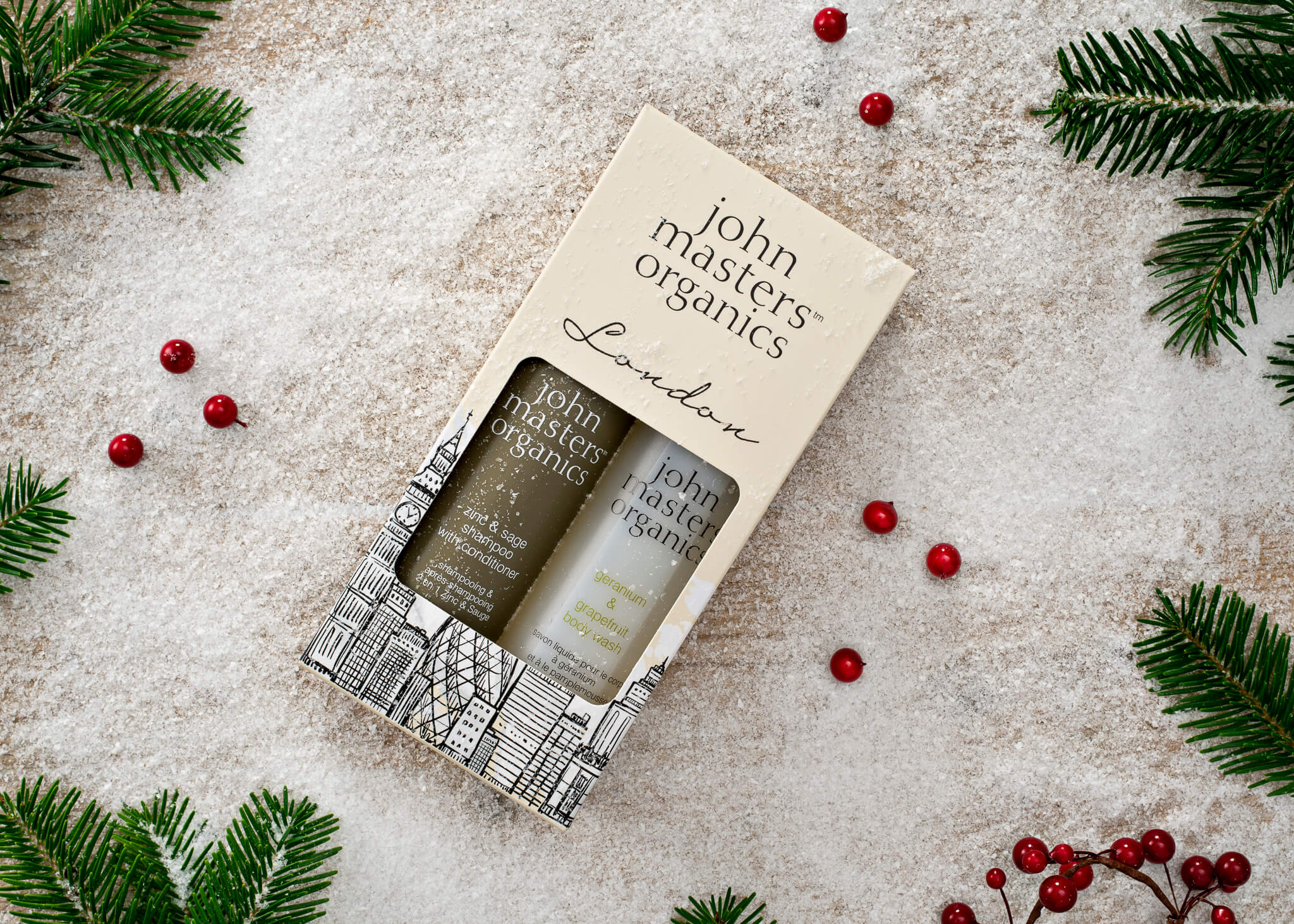 Packaging design by John Masters Organics
