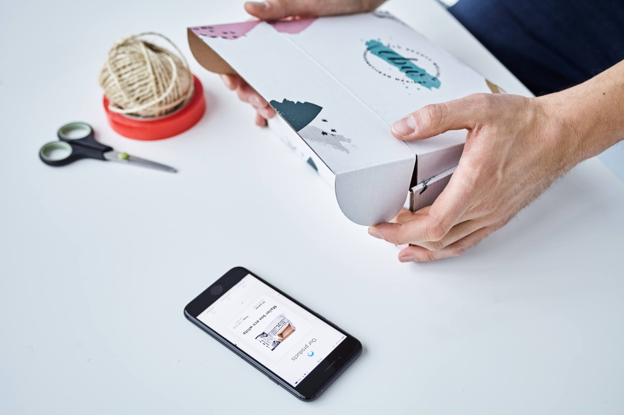 velkoobchodní balicky e-commerce