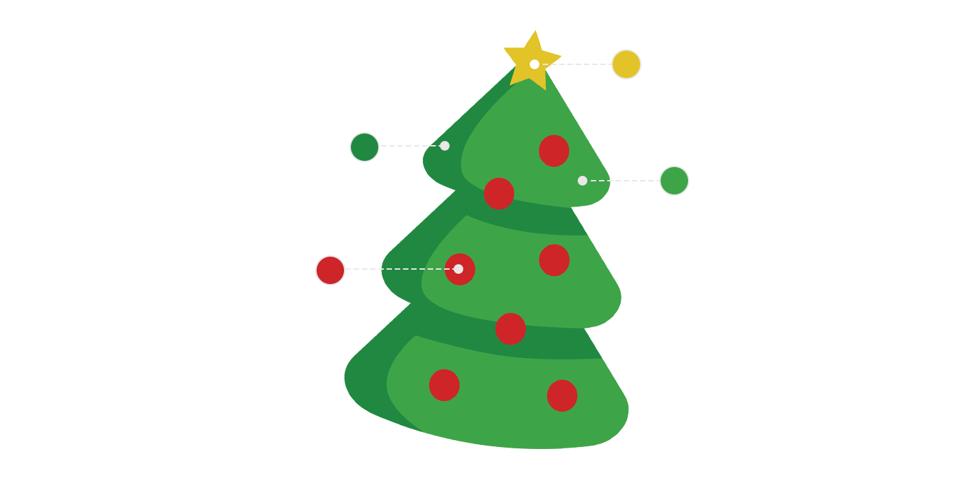 christmas tree pictogram