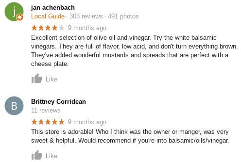google retail reviews