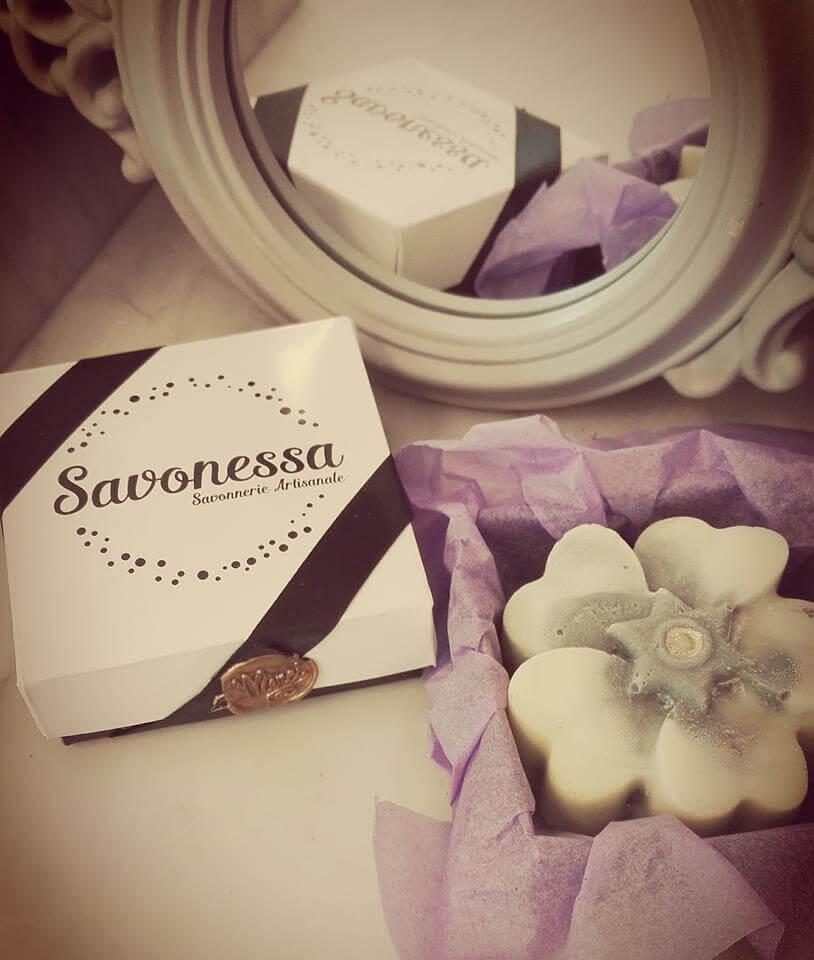 Boîte produit deux pièces pour le savon artisanal Savonessa