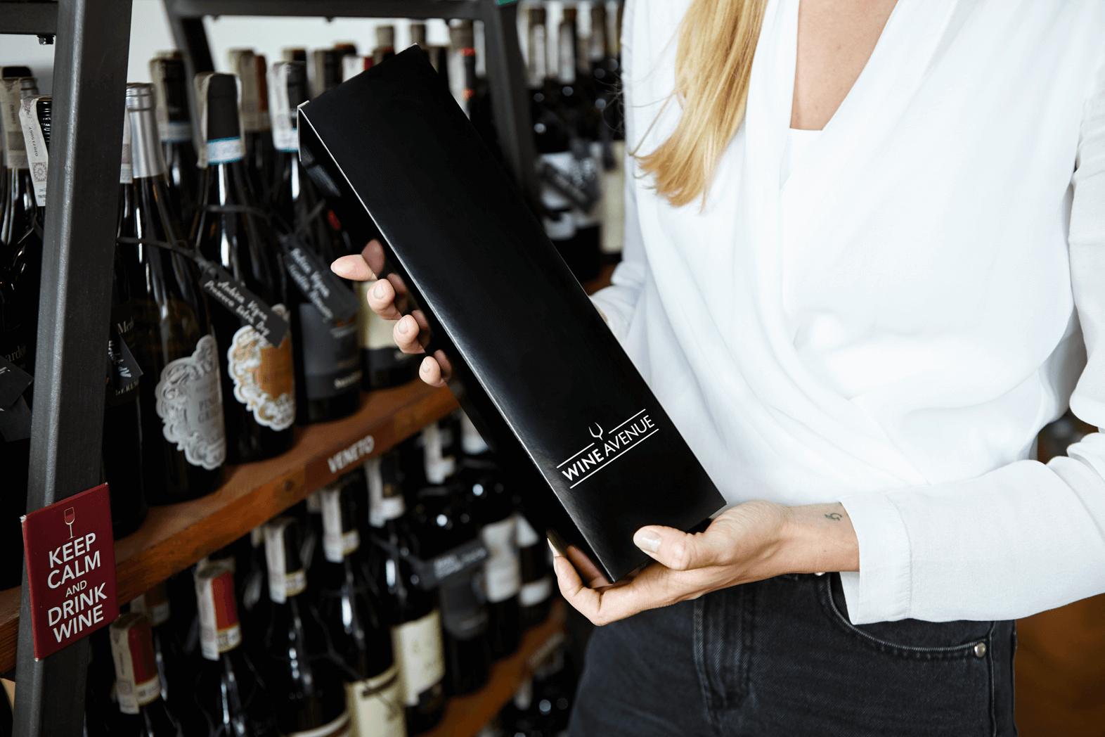die luxuriöse Weinverpackung packhelp