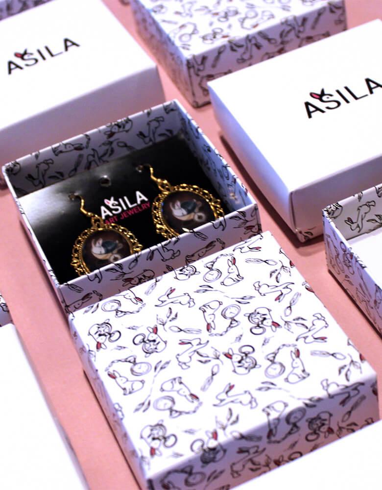 Unikátní produktové obaly Asila Disain