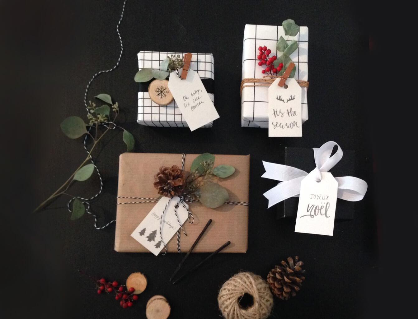 Vánoční zásilkové obaly packhelp