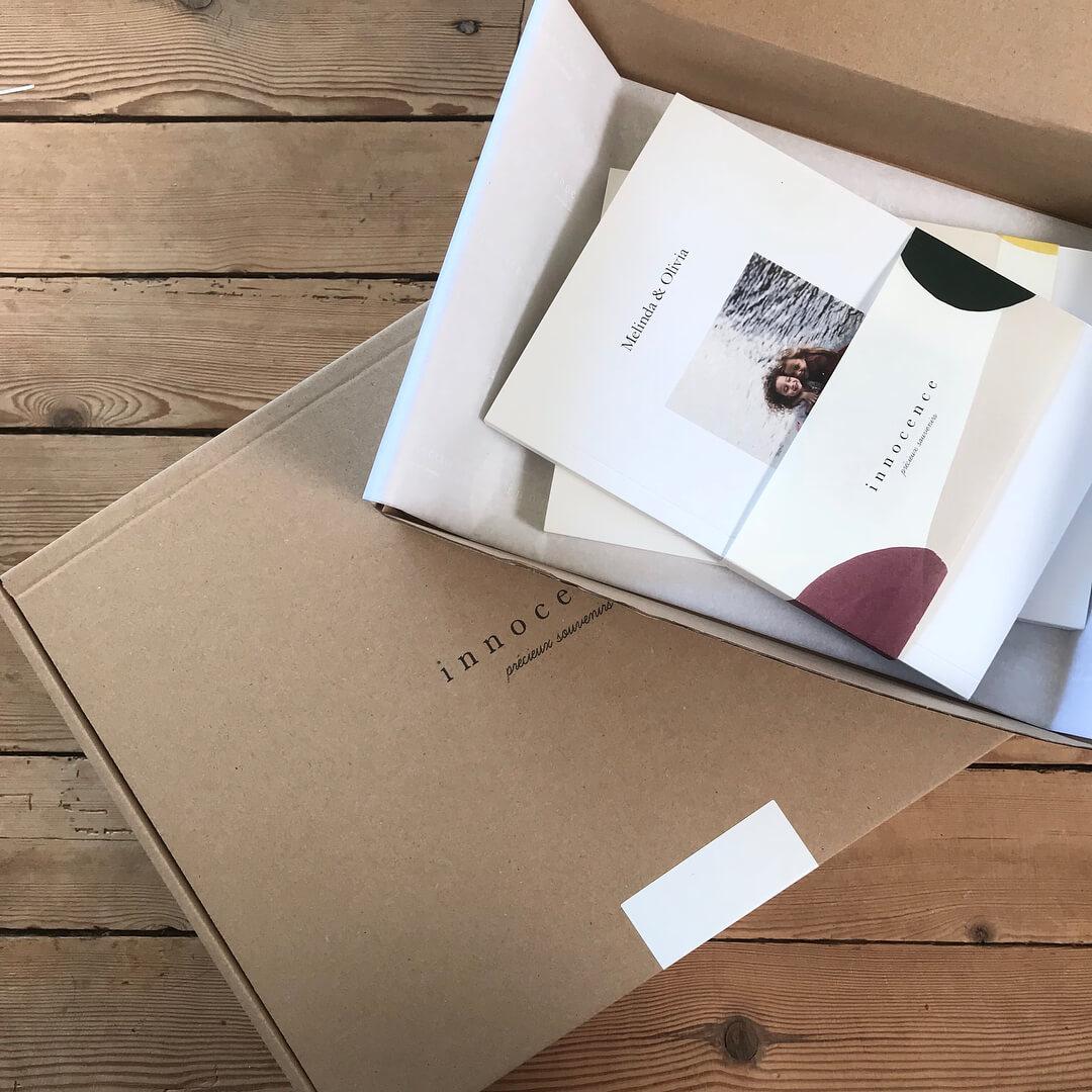 Packaging de Innocence Paris