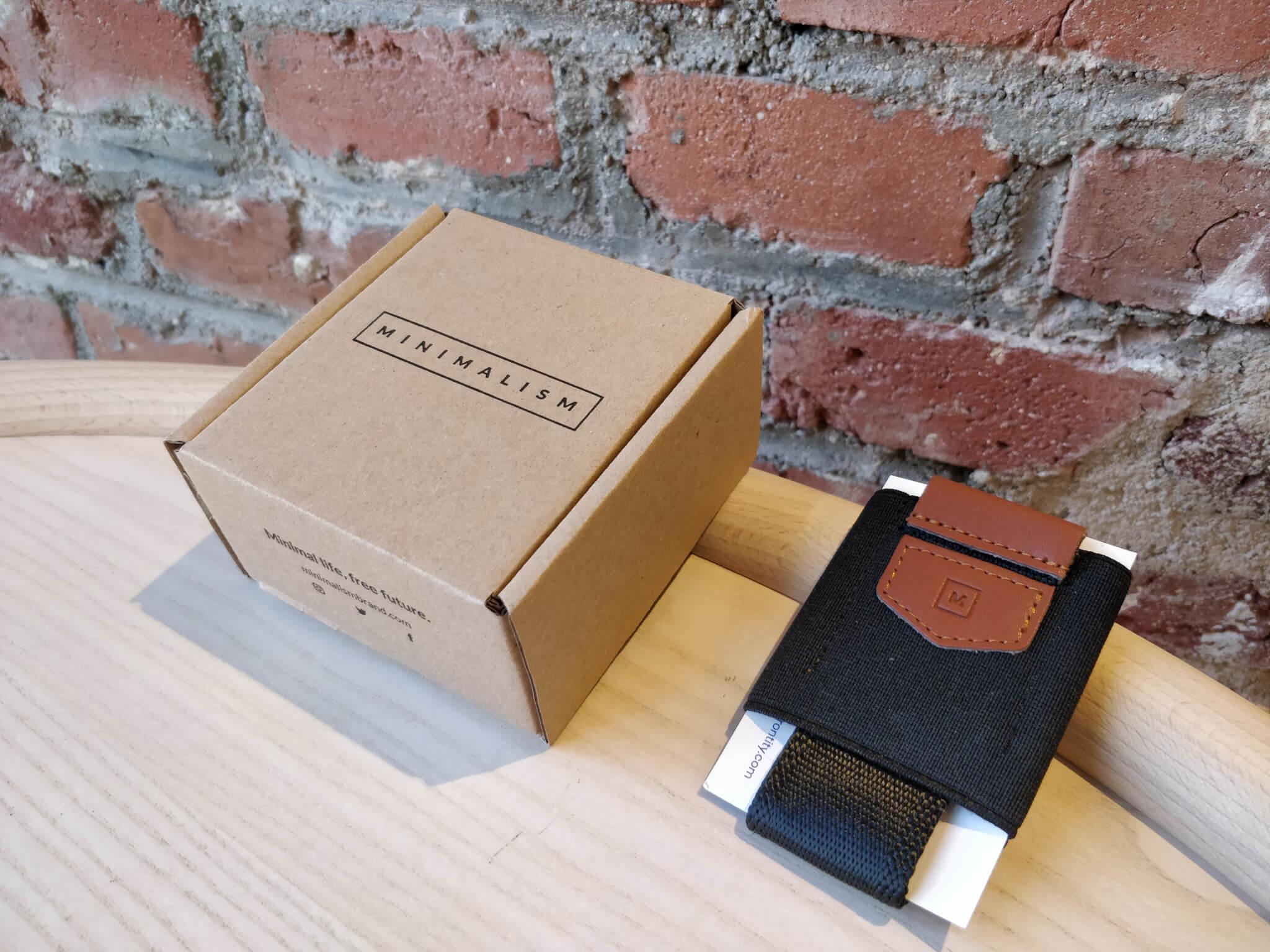 packaging de Minimalism Brand