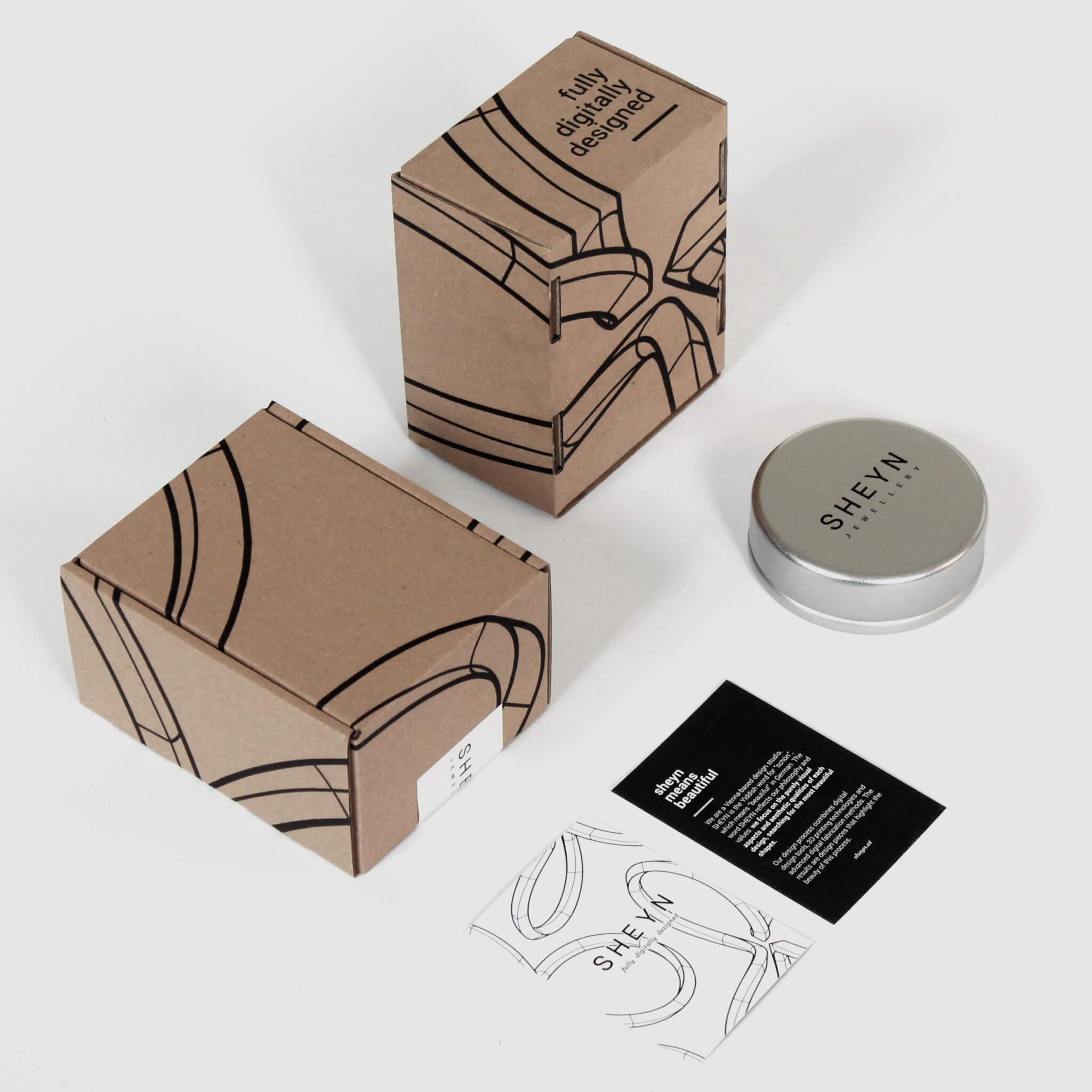 Paquetería única de SHEYN
