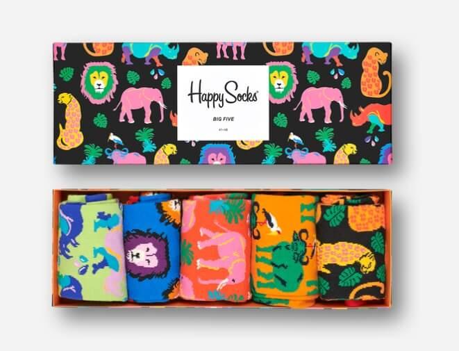 calcetines de colores de happy socks