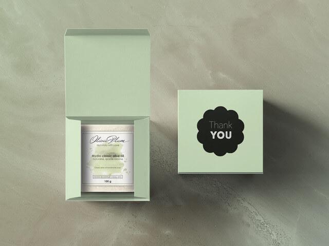 cajas para regalos de dos piezas