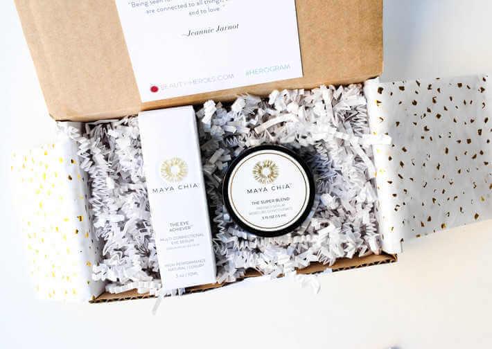 cajas para regalos un ejemplo de Maya Chia
