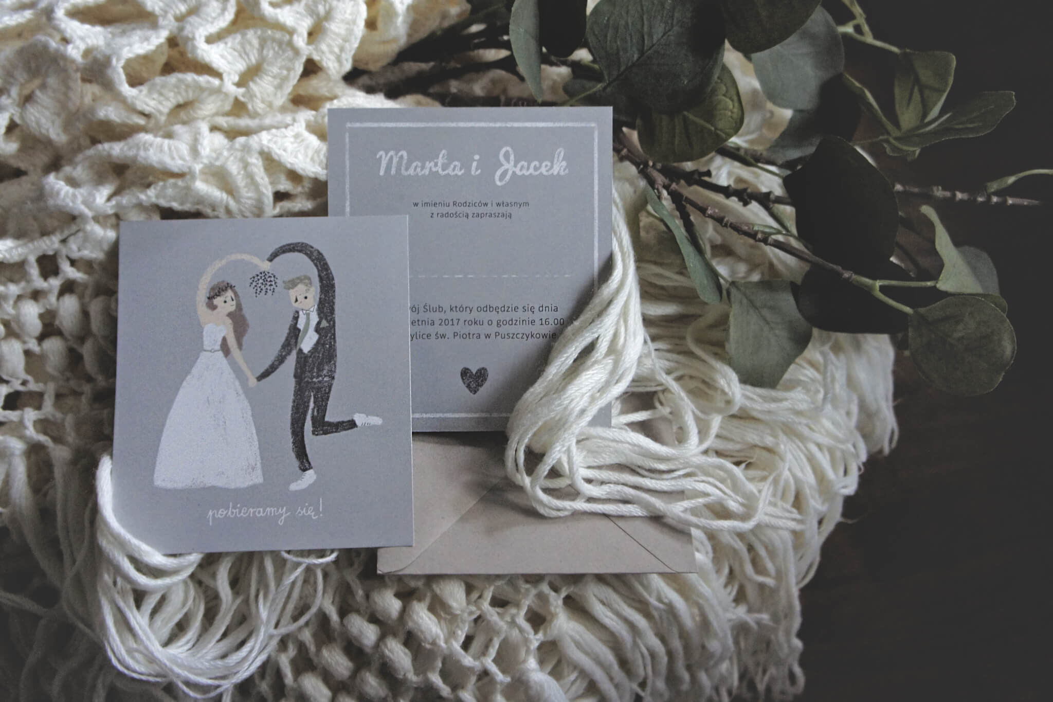 personalized wedding boxes by Onka