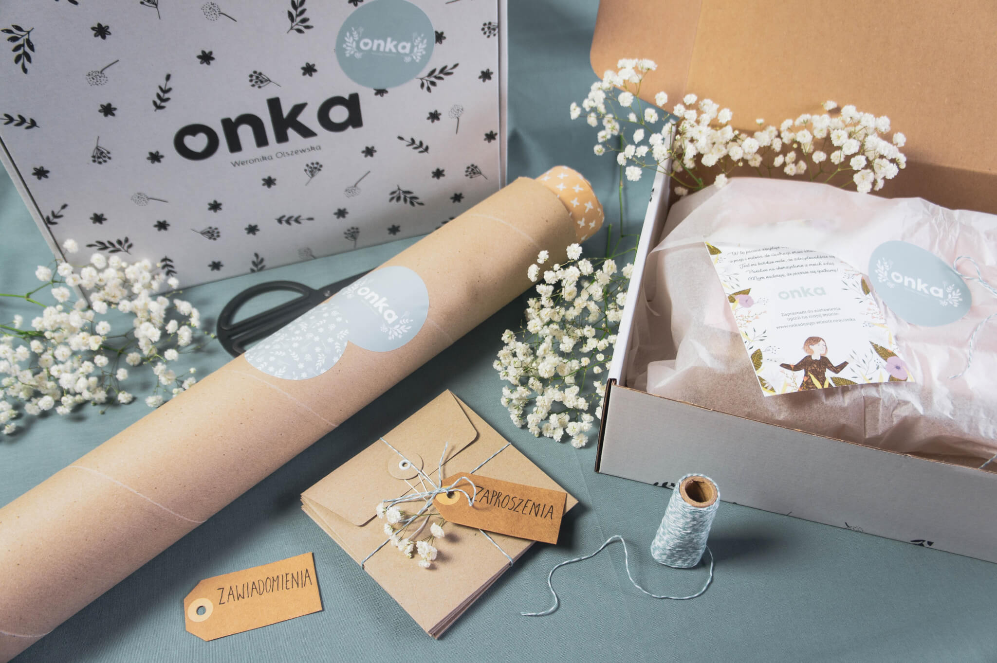 wedding boxes by Onka