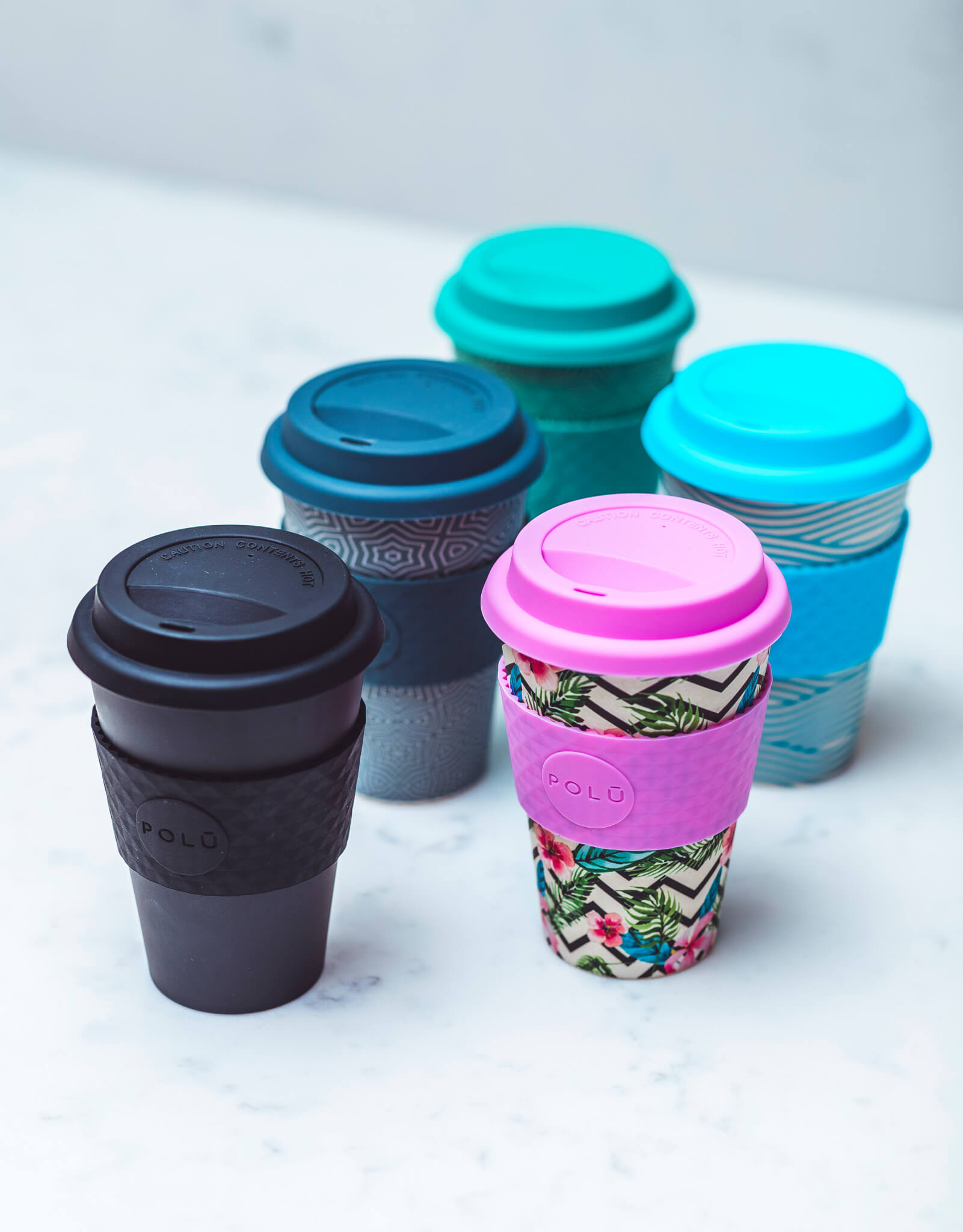 packaging by polu - reusable bamboo cups