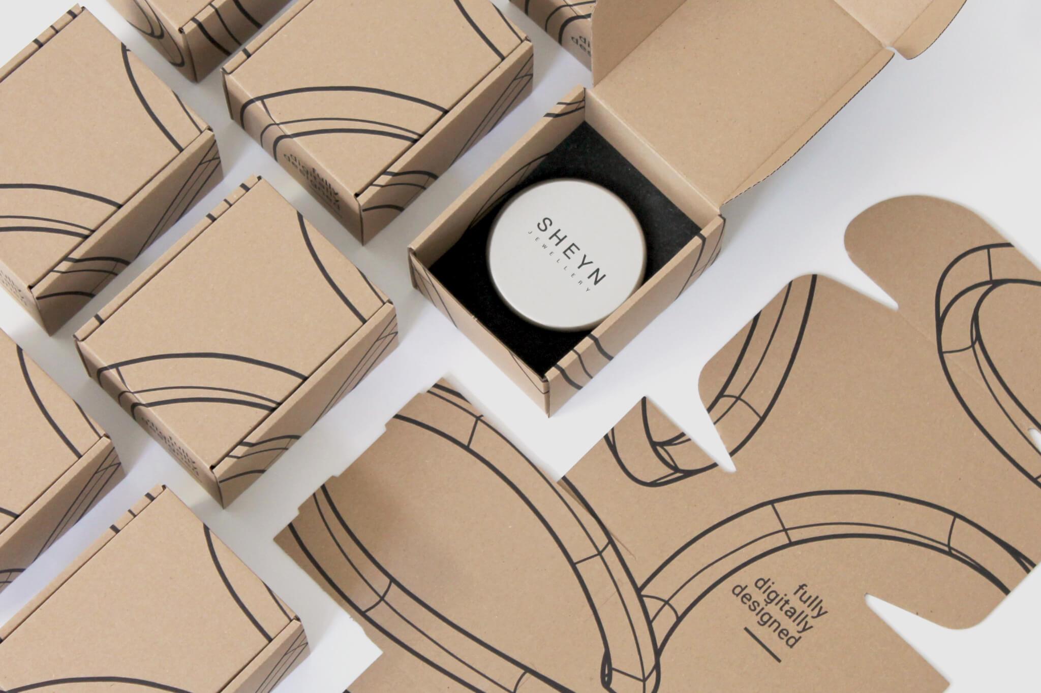 las cajas de cartón contribuyen a tener una empresa ecológica