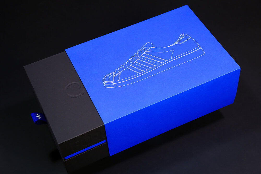 adidas non-standard packaging - drawer box