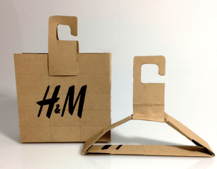 packaging sostenible H&M solución