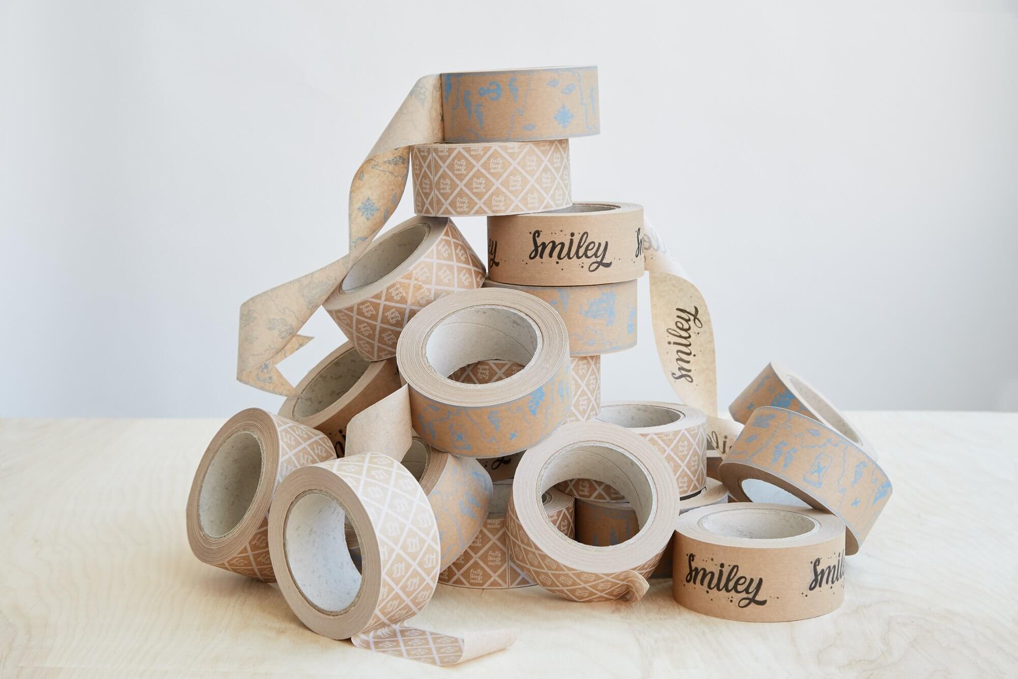 custom Kraft tapes