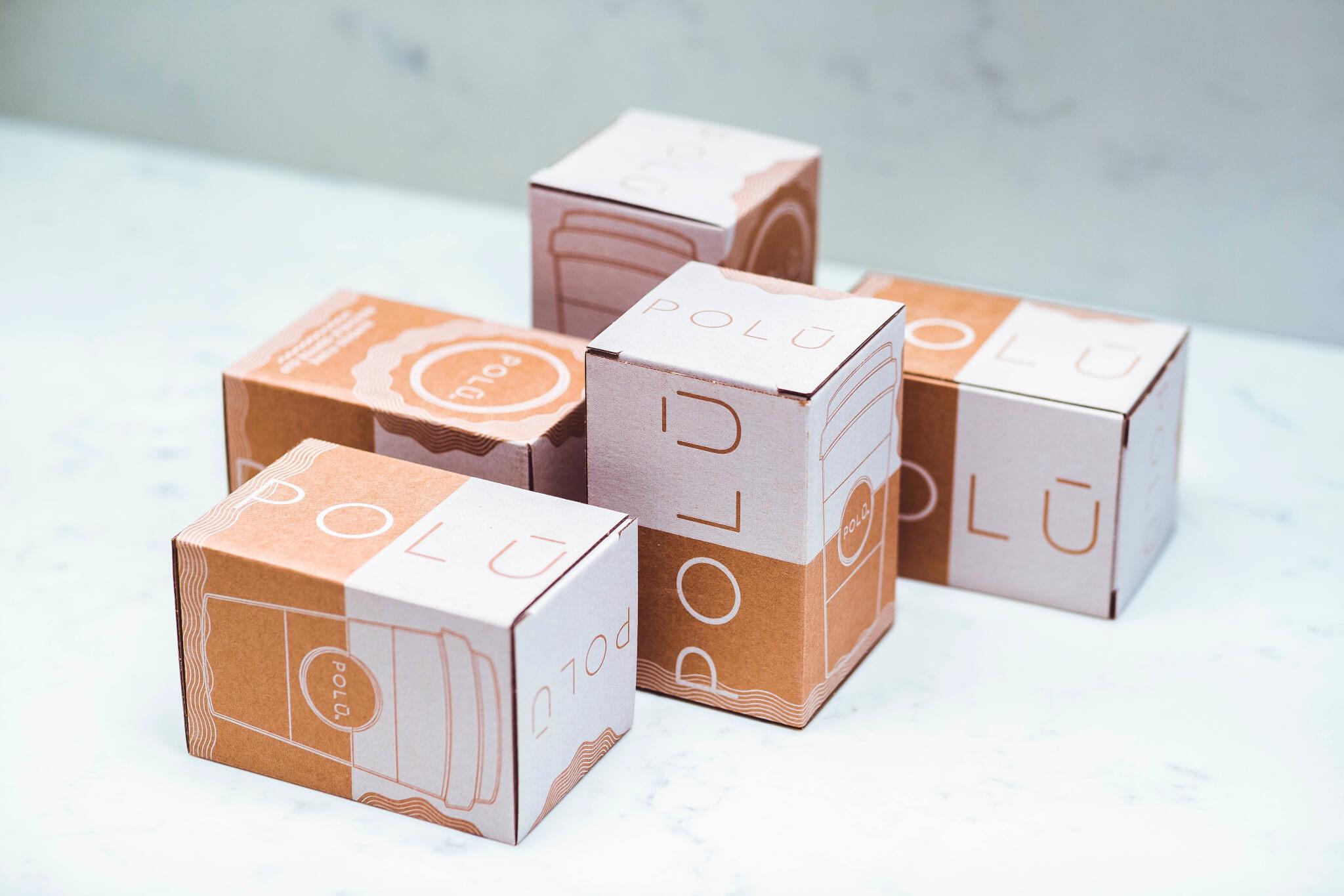Emballage en carton kraft personnalisé Polu Eco Products