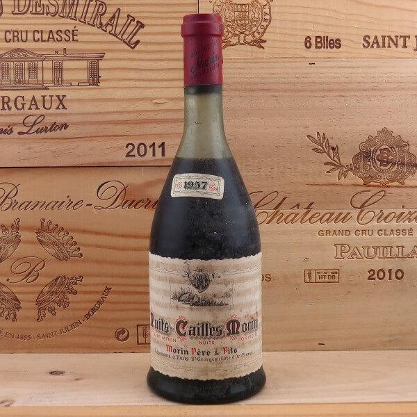 il vino di saints cailles morin