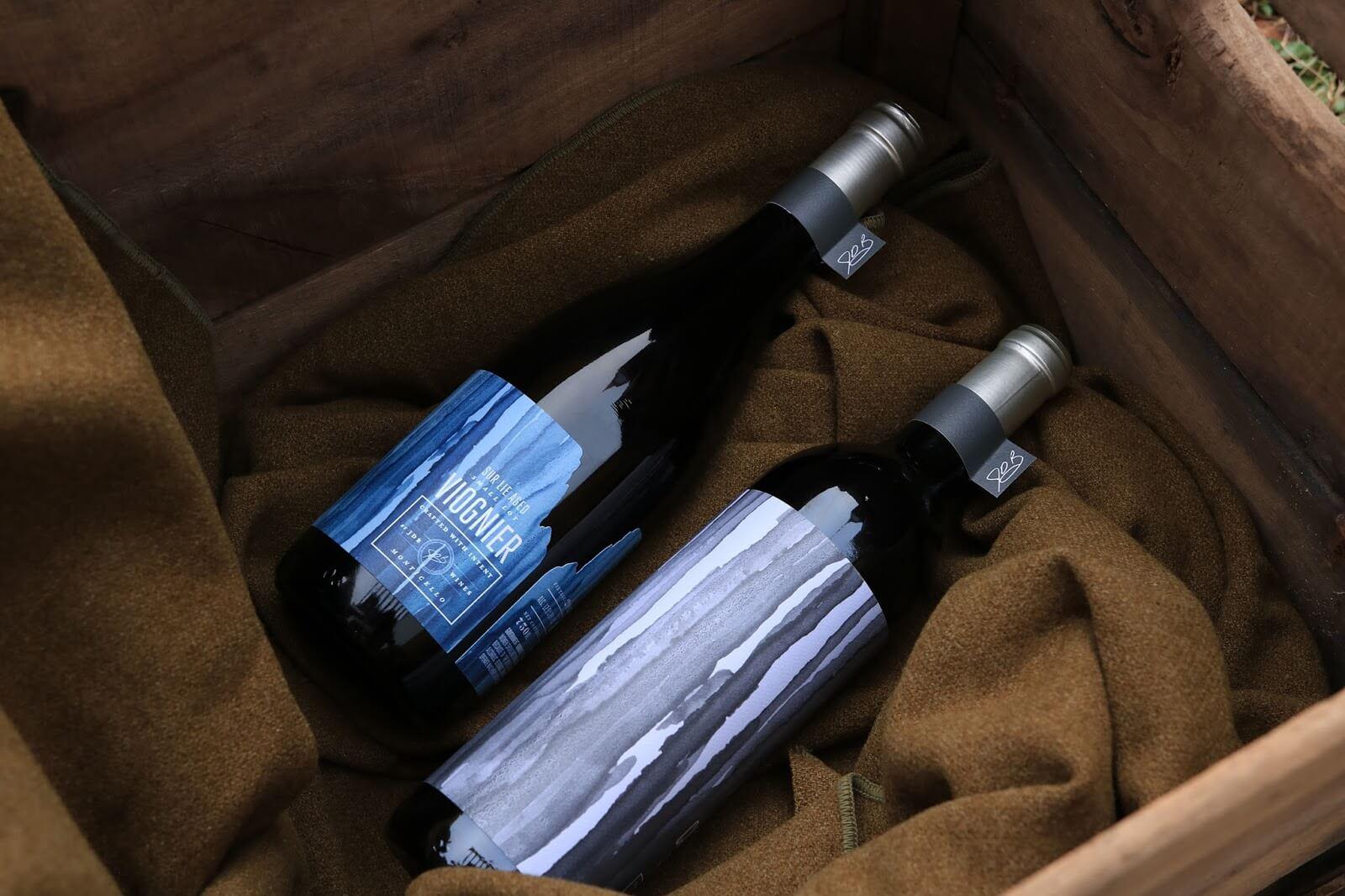 design di etichette da vino jake busching