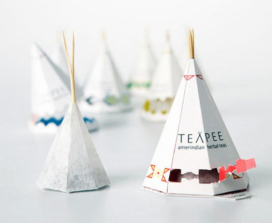 Emballage carton sur mesure pour sachets de thé