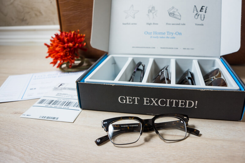 warby parker box - direct-to-consumer d2c packaging