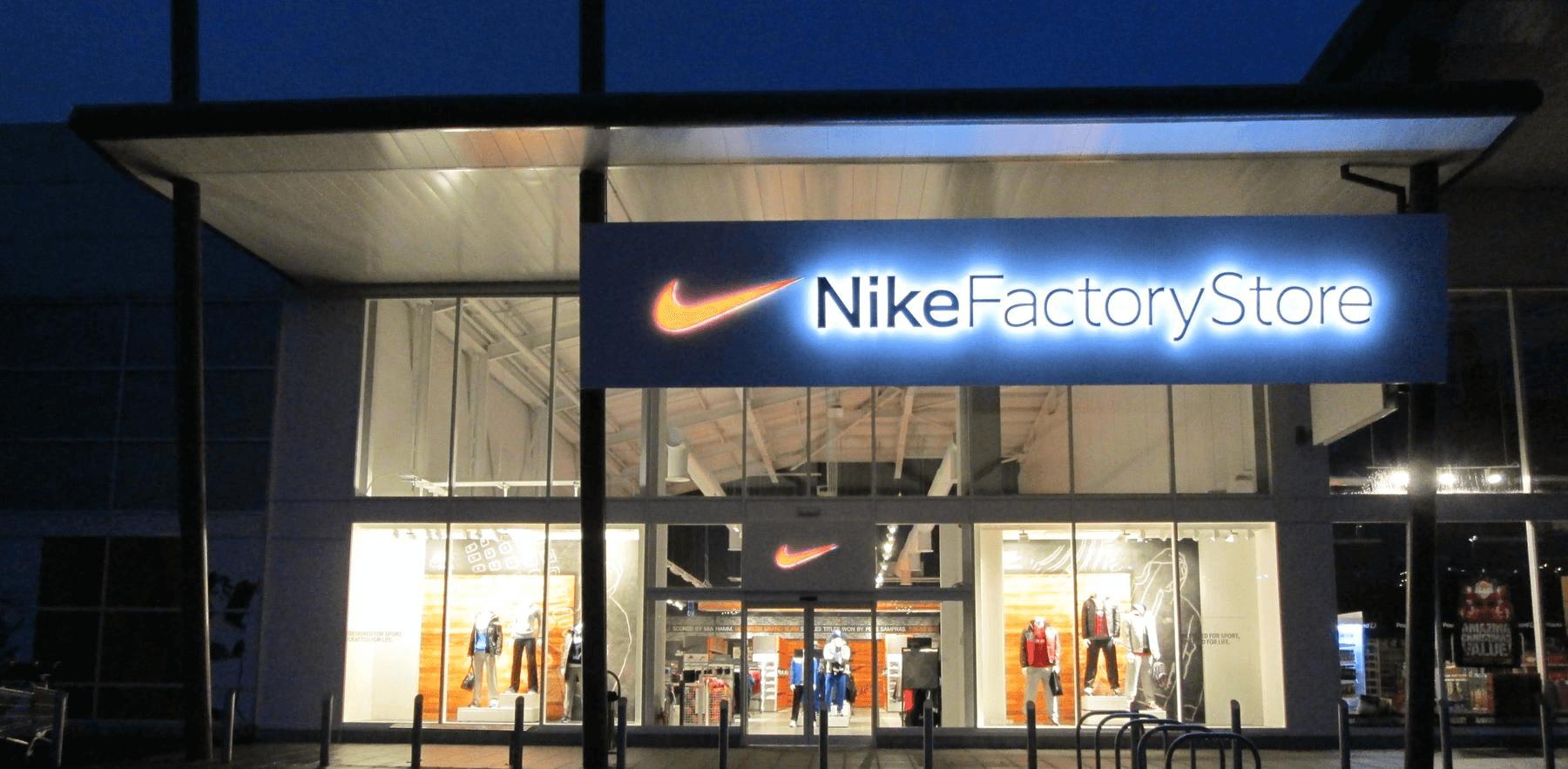 Magasin Nike vente directe