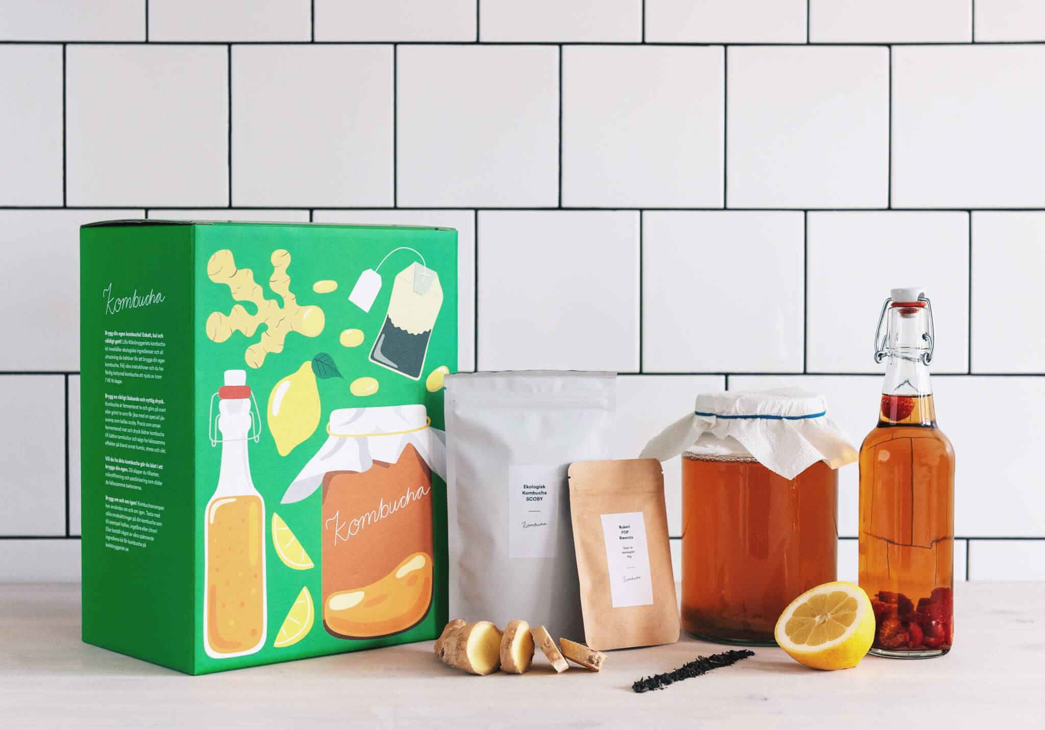 el envase de Det Lilla Köksbryggeriet - packhelp packaging