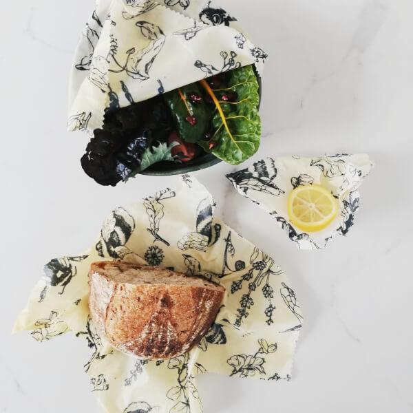 Lebensmittelverpackungen aus Bienenwachs