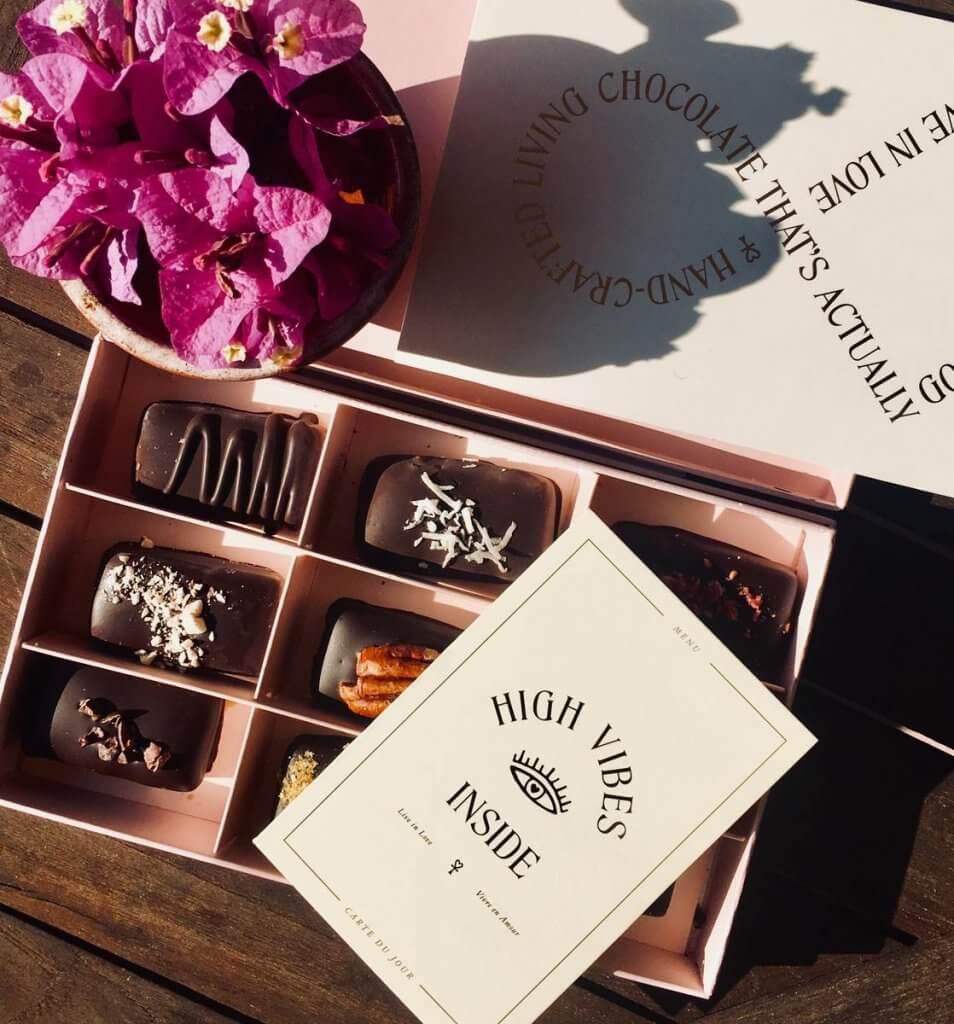 Boîte d'assortiment de chocolats