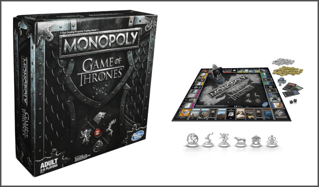 game of thrones monopoly verpackung
