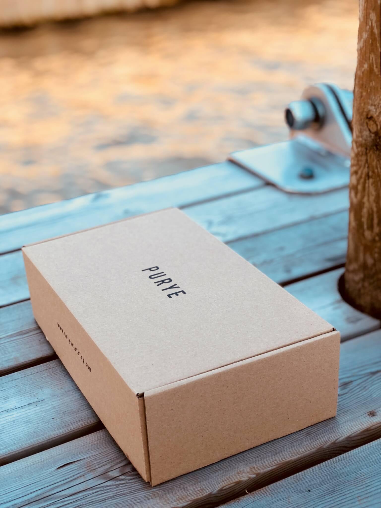 Eco Verpackung von Purye Clothing