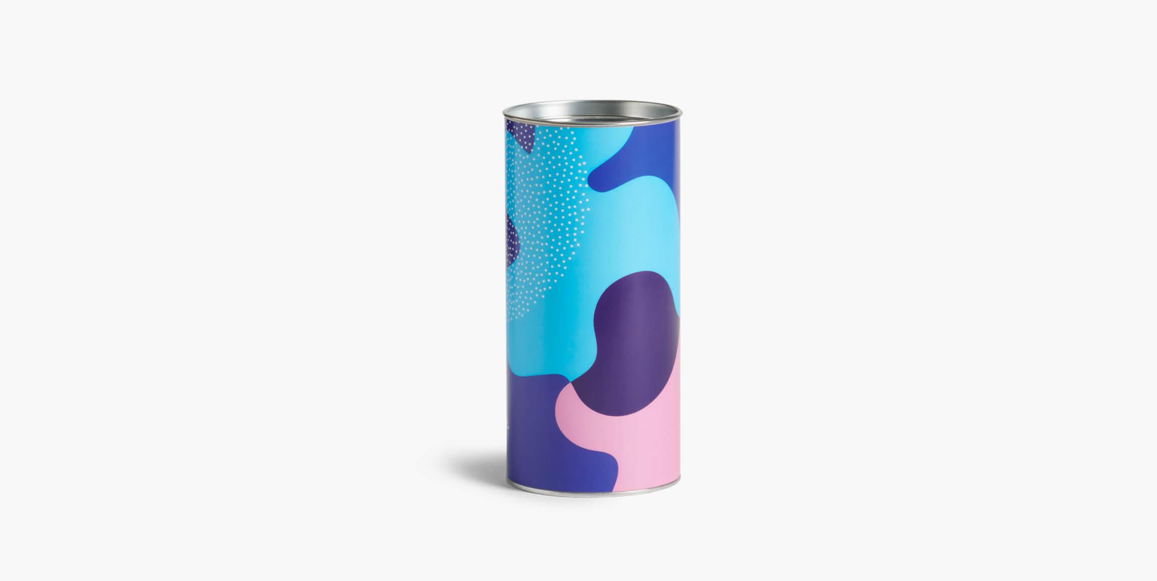 Paper cans - custom packaging - Packhelp