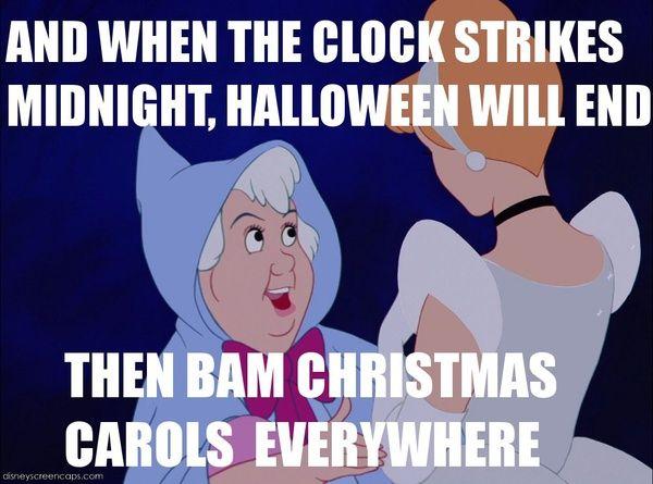 po kampanii na halloween przychodzą święta