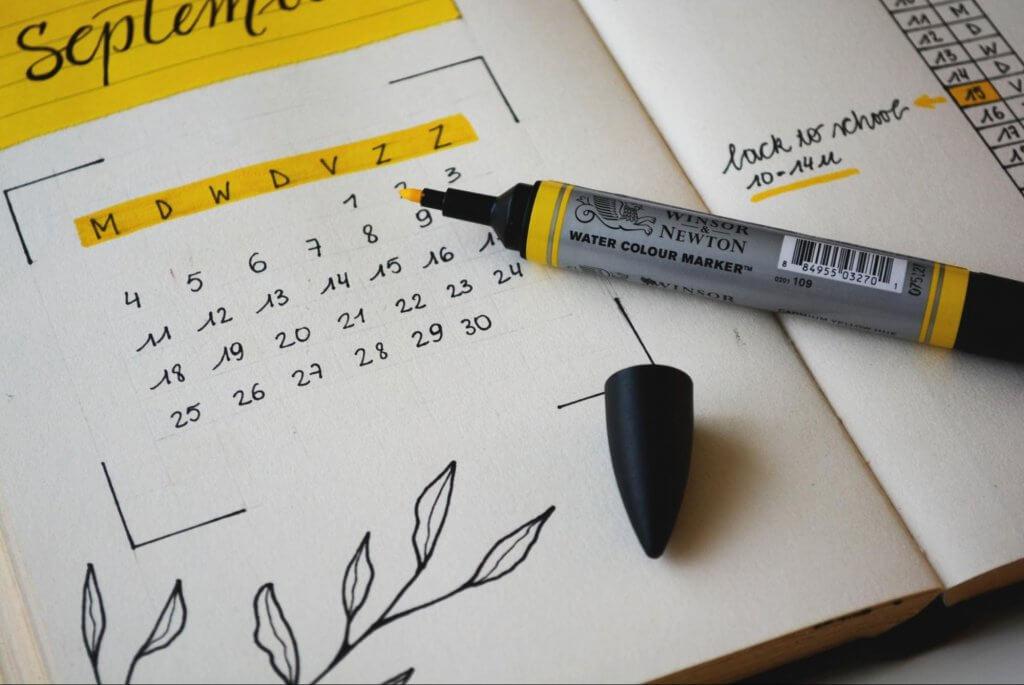 create a christmas calendar to help your marketing